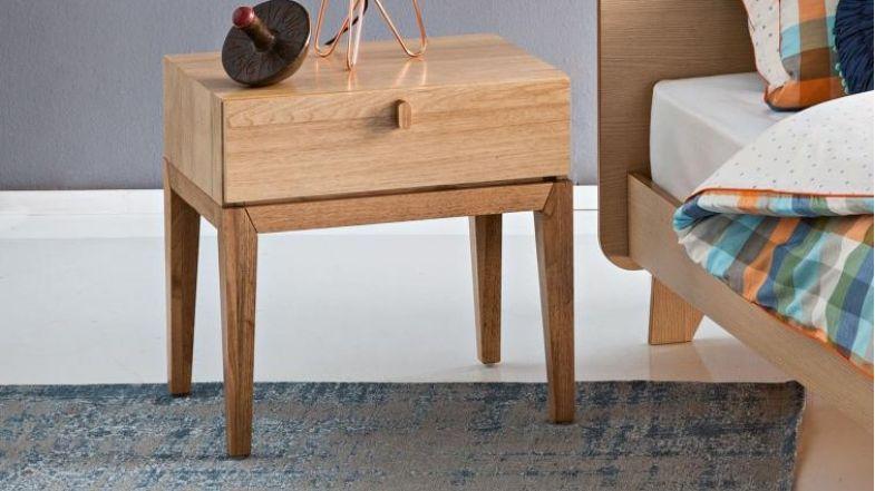 Lola 1 Drawer Bedside Table Domayne Furniture Bedroom Furniture