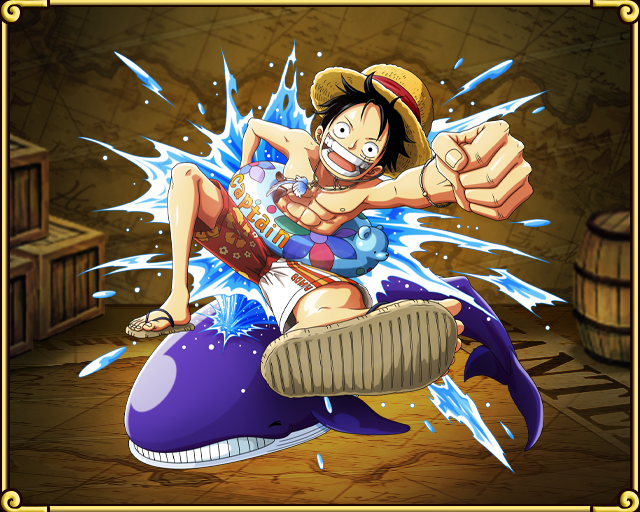 Monkey D Luffy Swim Ring One Piece Treasure Cruise Wiki Fandom Powered By Wikia トレクル ルフィ うき