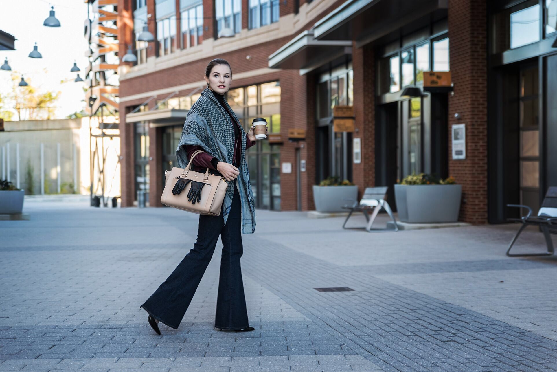 Layered Winter Street Style with DC Blogger Sahra