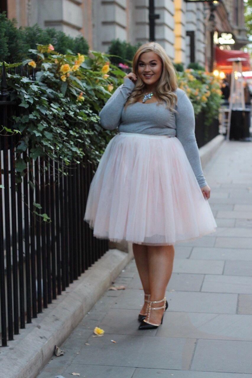 550c997828b Plus Size Clothing for Women - Society+ Premium Tutu - Blush - Society+ - Society  Plus - Buy Online Now! - 6
