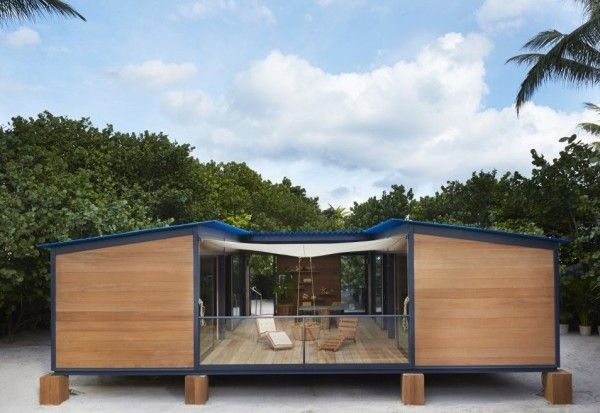 Tiny Beach House By Charlotte Perriand Louis Vuitton Inside One Wing You