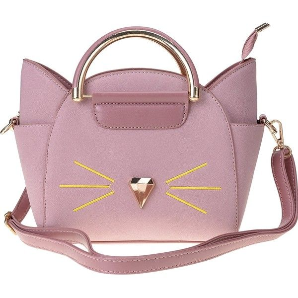 QZUnique Women s Summer Fashion Top Handle Cute Cat Cross Body... (475 MXN)  ❤ liked on Polyvore featuring bags ea6fbf33bb