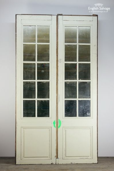 Old Ballroom Style Mirrored Double Doors & Old Ballroom Style Mirrored Double Doors | fixtures and fitings for ...