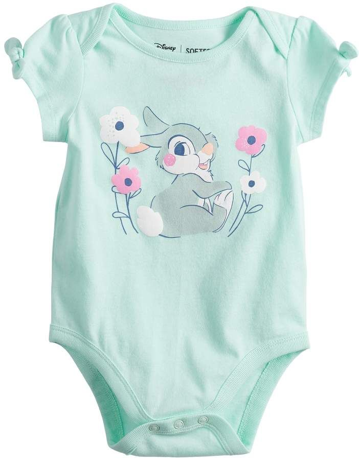 Disney's Bambi Thumper Baby Girl Graphic Bodysuit by Jumping Beans