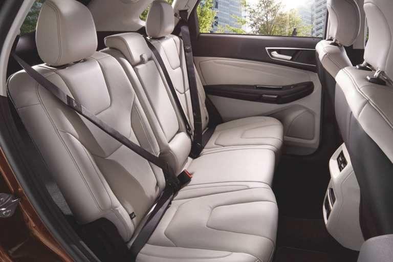Titanium Interior In Ceramic Of The 2017 Ford Edge Ford Edge Ford Edge Suv Ford