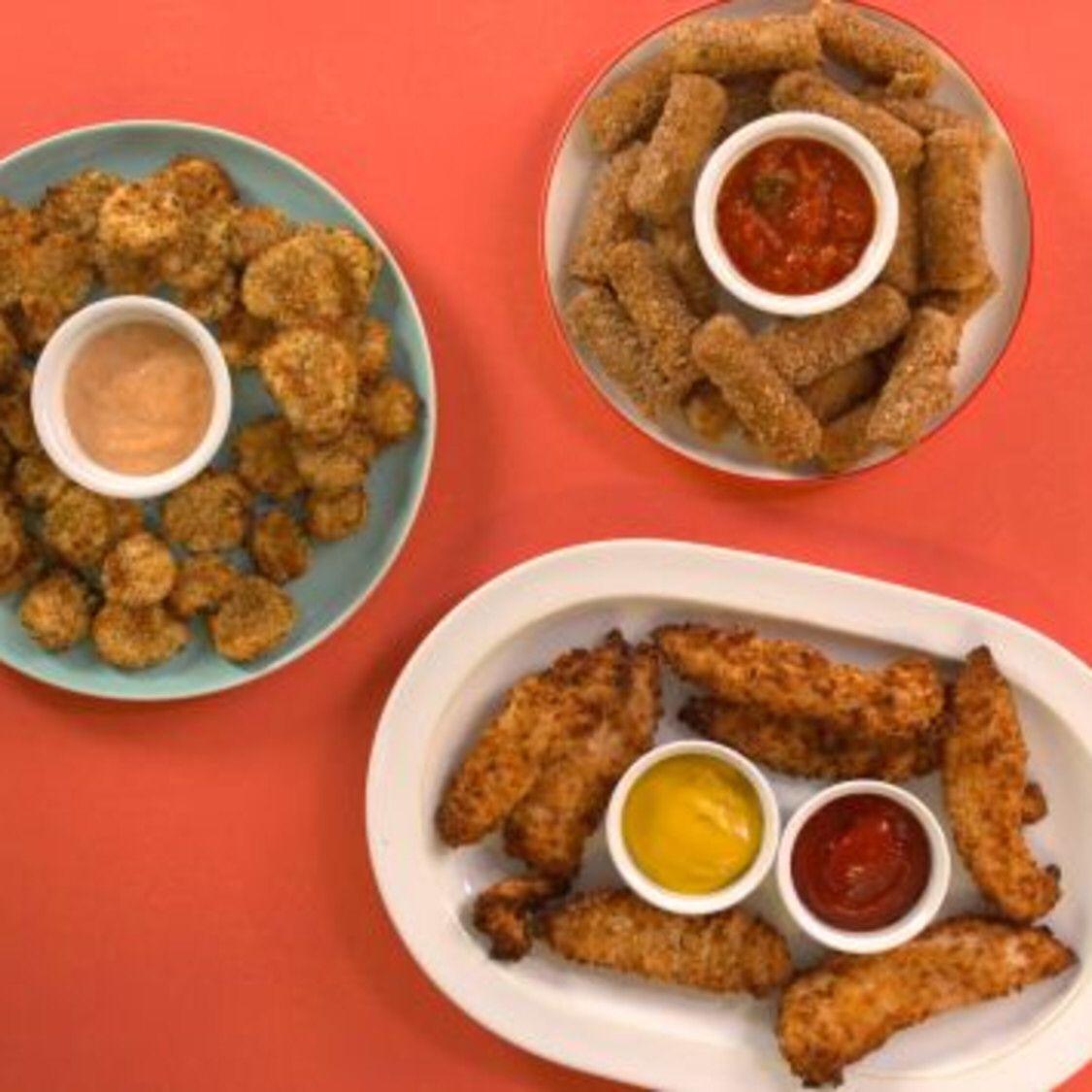 Air fryer ranch mozzarella sticks recipe food network