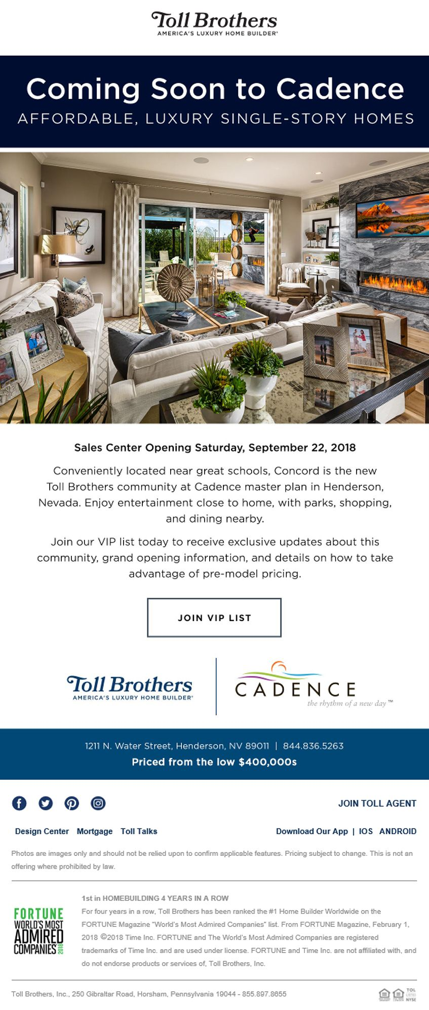 New Homes For Sale In Henderson Nevada Something New Is Happening In Henderson Nevada Concord At Ca Luxury Homes Single Story Homes Indoor Outdoor Living