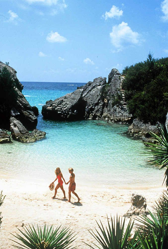 Jobson S Cove In Horseshoe Bay The Most Famous Beach Bermuda Take Me There Again Please Xox