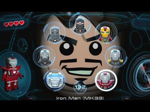 Lego Marvel S Avengers Vita All Playable Iron Man Suits Unlocked Lego Marvel S Avengers Lego Marvel Marvel Avengers