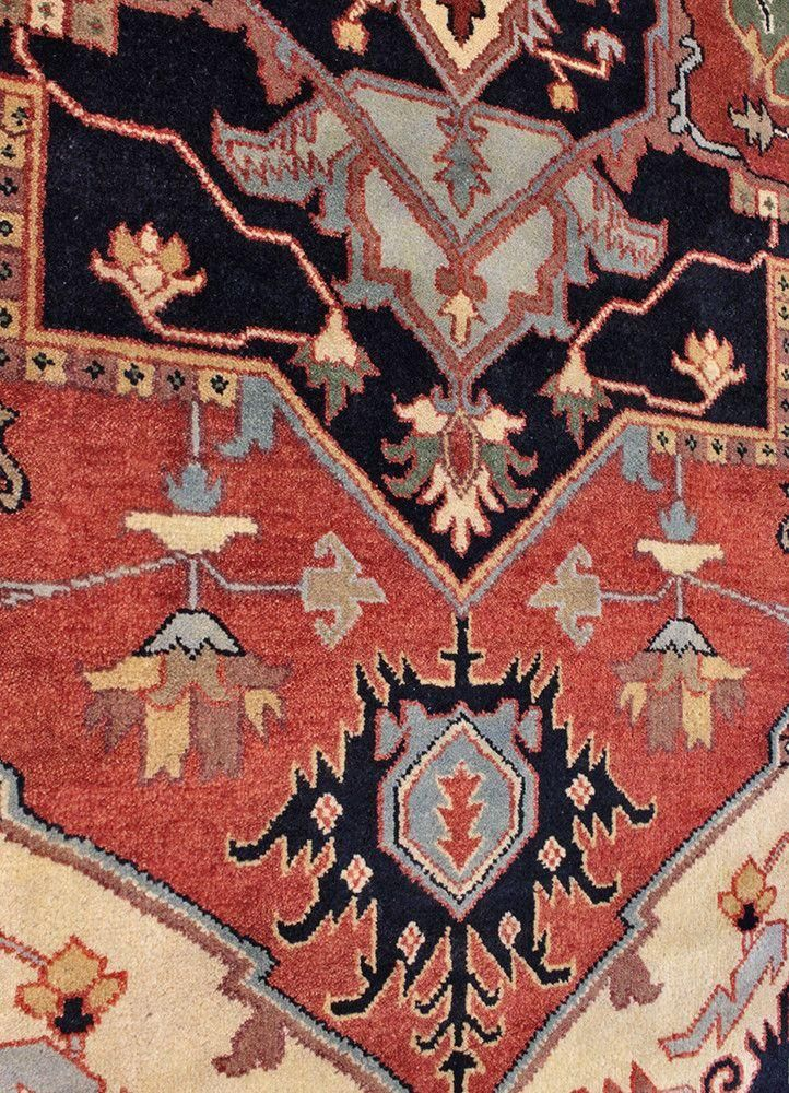 Serapi TAN80024565, India in 2020 Rugs, Types of rugs