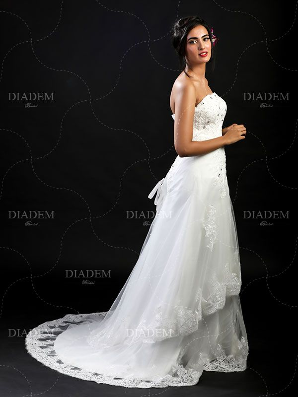 Beautiful Empire Waist A Line Gowns in Chennai - Online Shopping ...