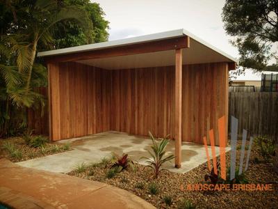 Landscape Brisbane Skillion Roof Pergola Or Outdoor Room