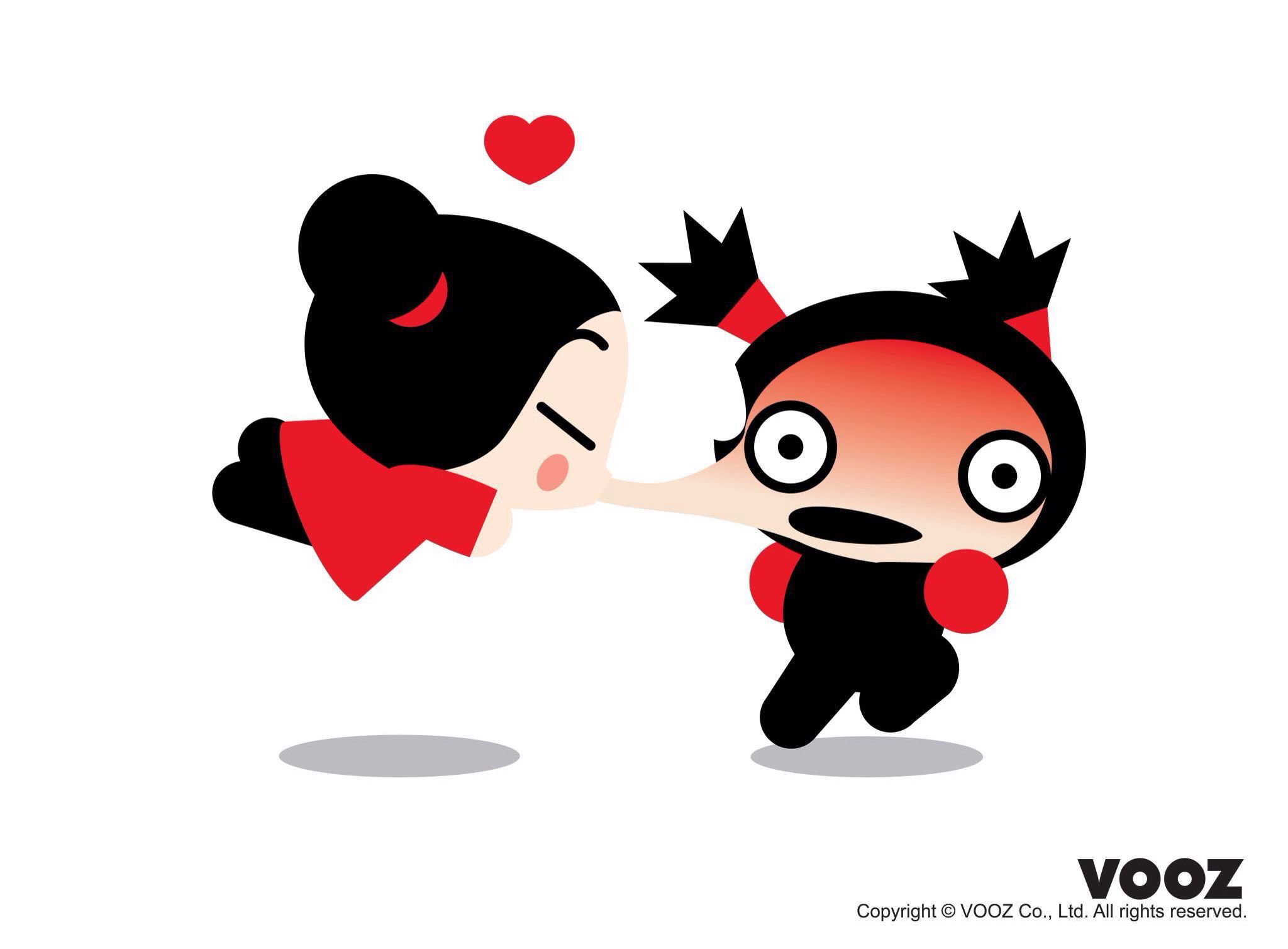 Cute Love Cartoon Couples Wallpapers Vooz Pucca ️️pucca ️ Pucca Pukka Funny Love