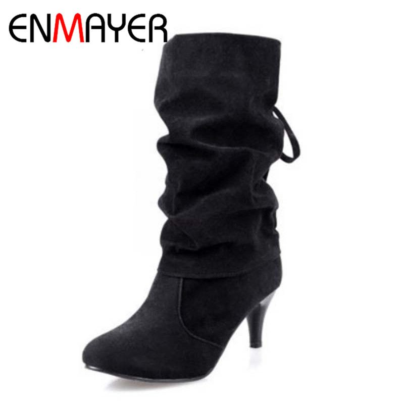=>Sale onENMAYER New Snow Boots Fashion Pointed Toe BOW Mid-Calf Women Boots for Women High-heel Boots Shoes Platform Shoes WomenENMAYER New Snow Boots Fashion Pointed Toe BOW Mid-Calf Women Boots for Women High-heel Boots Shoes Platform Shoes WomenAre you looking for...Cleck Hot Deals >>>  http://id582439016.cloudns.pointto.us/2024565051.html
