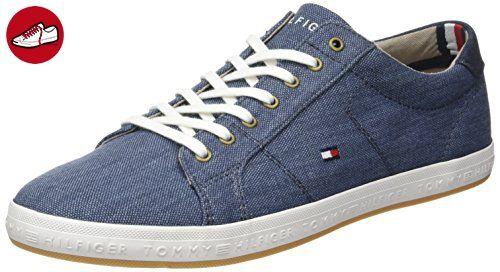 Tommy Hilfiger V1285enus 1n1, Sneaker Basses Femme, Bleu (Chambray 022), 36 EU