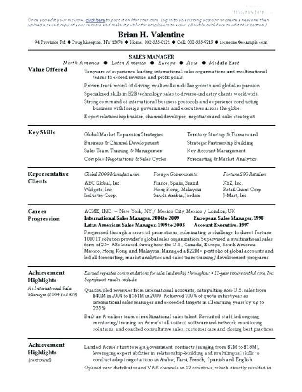 75 Beautiful Stock Of Resume Examples For Child Care Worker