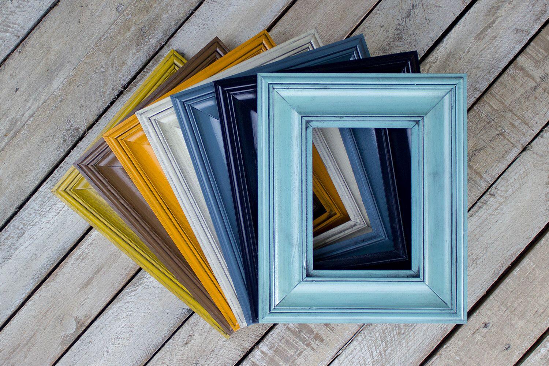 Biltmore Picture Frame, Handmade Frame, Picture Frame Set, Wedding ...