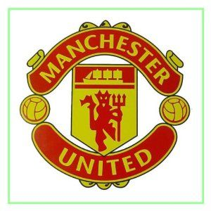 Man United P1735 7 5 Square Edible Cake Topper Made With Real