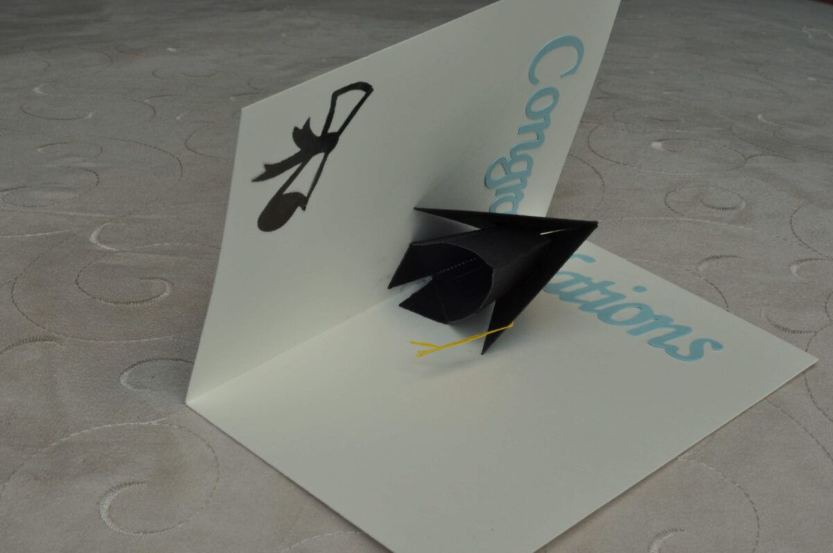 3d Graduation Cap Pop Up Card Template Inside Graduation Pop Up Card Template Pop Up Card Templates Heart Pop Up Card Pop Up Cards