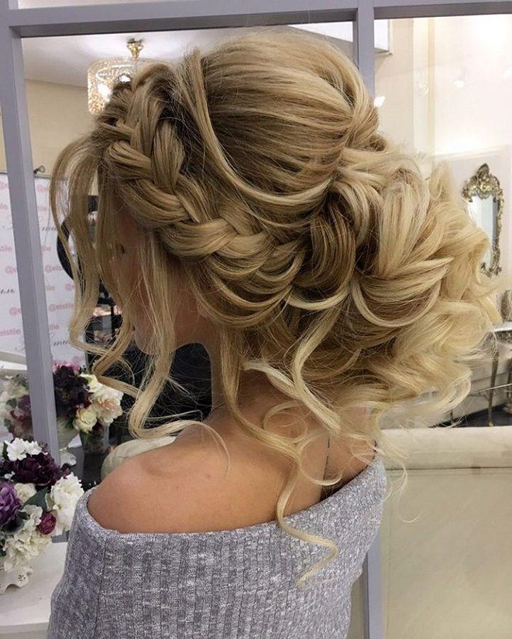 Gorgeous Braided Wedding Hairstyle Penteado Casamento