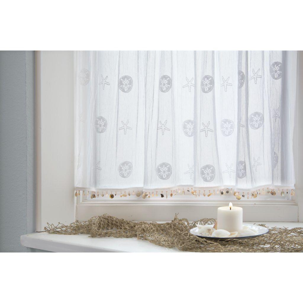 Lovely Sand Dollar Shower Curtain Hooks