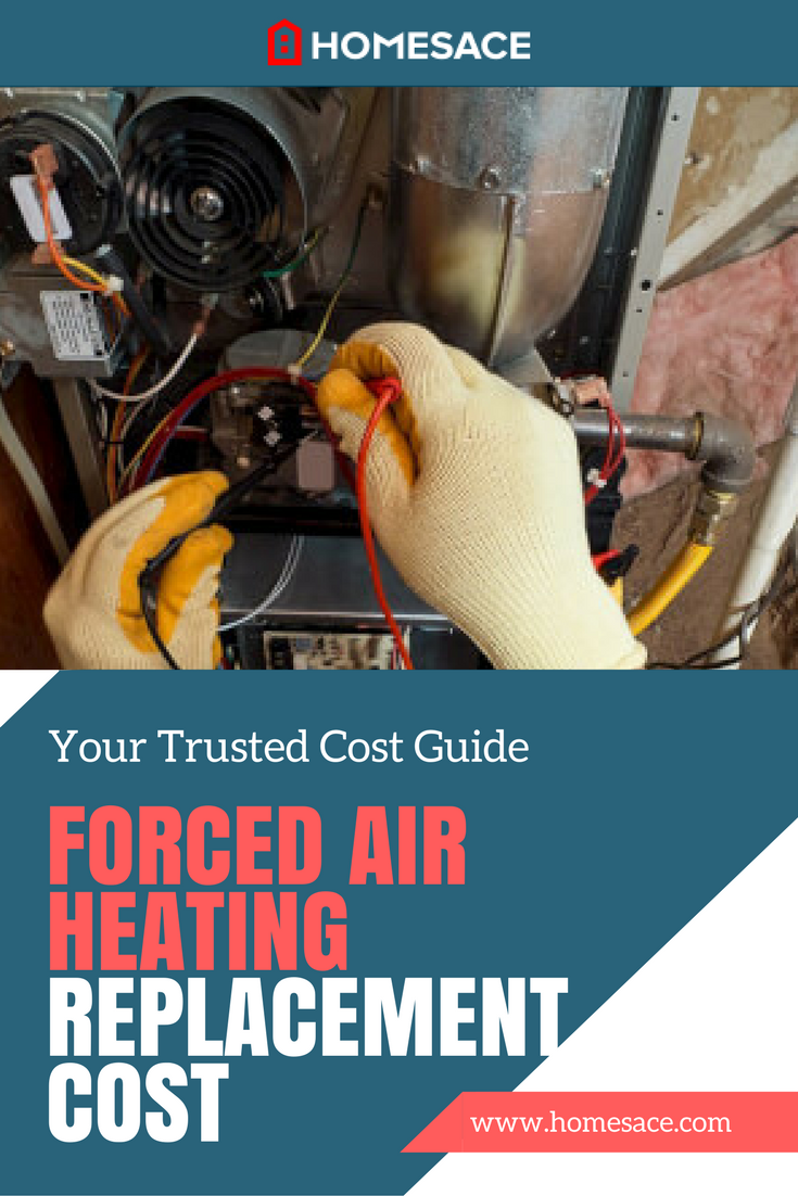How much should it cost you to replace your forced air