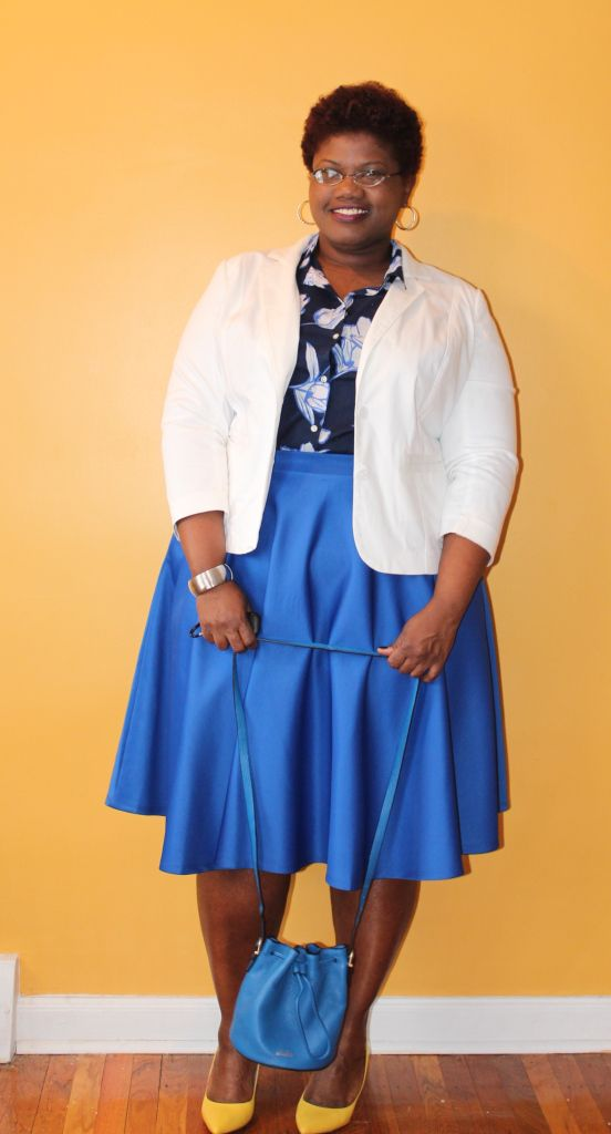 midi skirts, ASOS, old navy, Saturday kate spade, plus size fashion, spring fashion, spring, drawstring bags, lane bryant, color blocking, floral print, plus size clothing, curvy, curvy women, curvy girls, curvy blogs, curvy bloggers