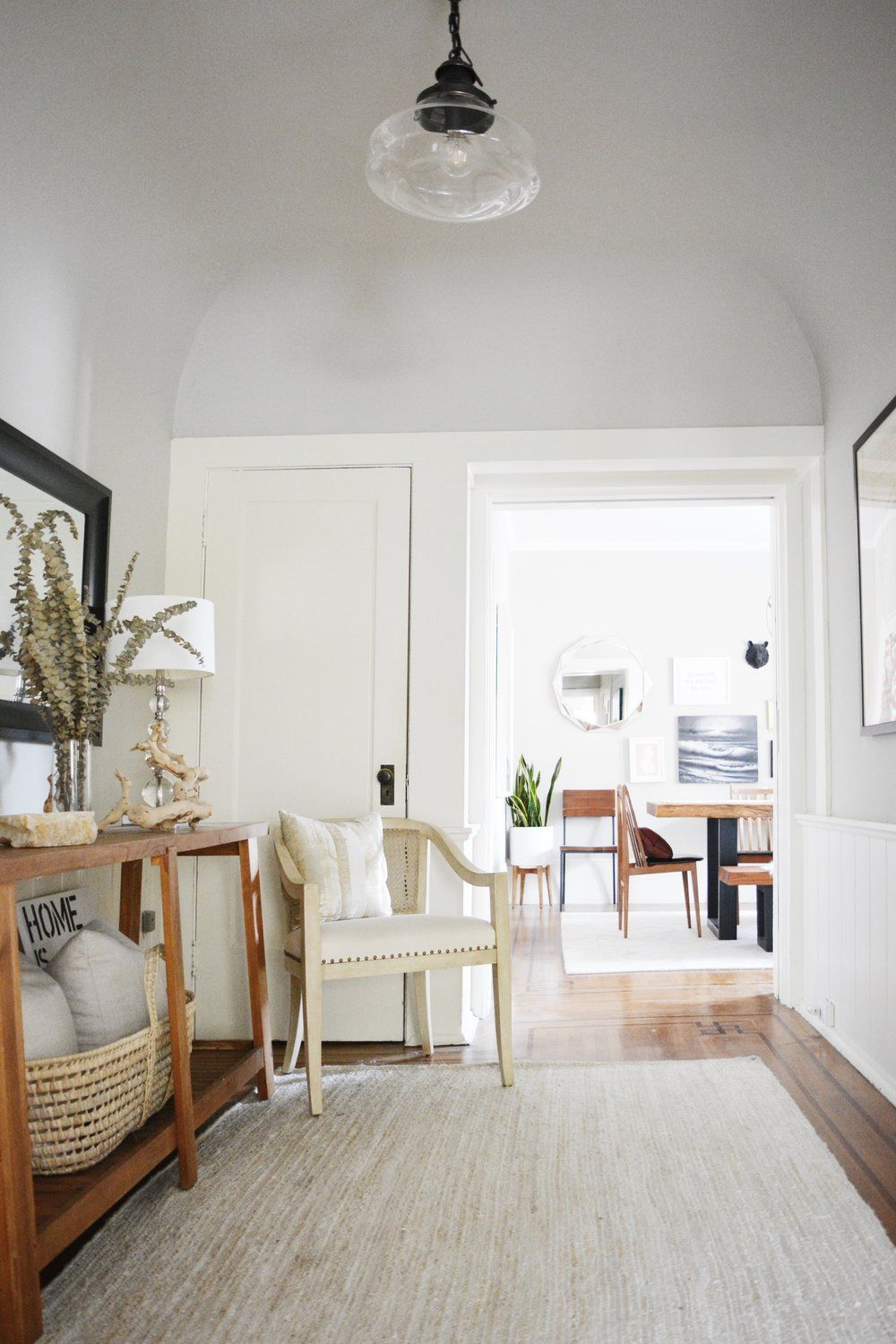 Filbert Foyer - Angela Grace Design | Hallways & Entryways ...