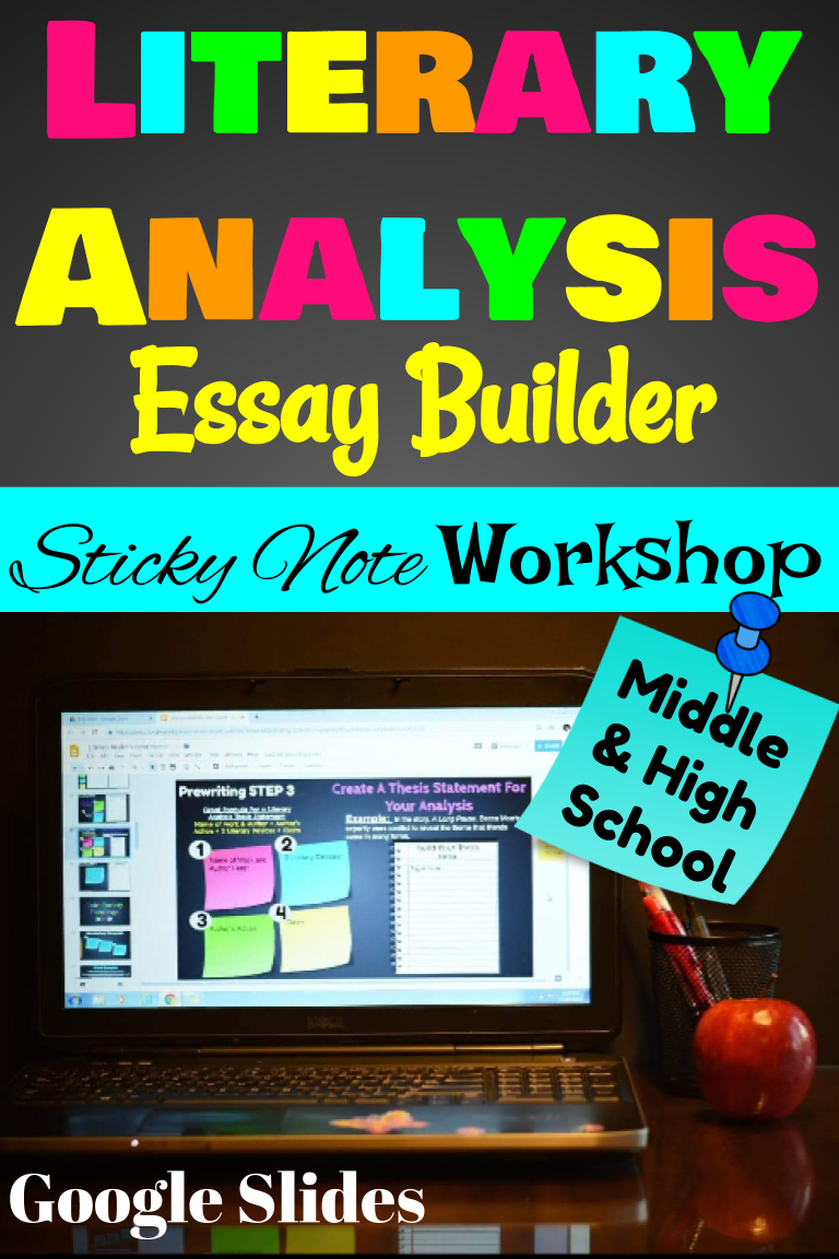 literary analysis essay example middle school