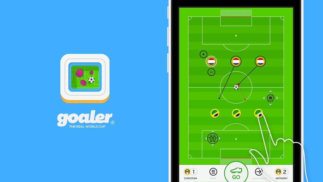 A multiplayer turnbased soccer game called Goaler gaming