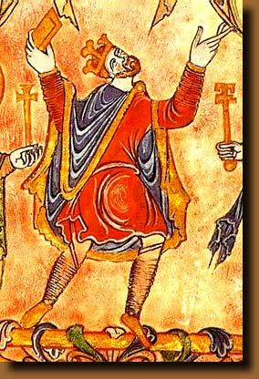 "King Edgar ""the peaceful"" Son of King Edmund I. King of all England from 959."