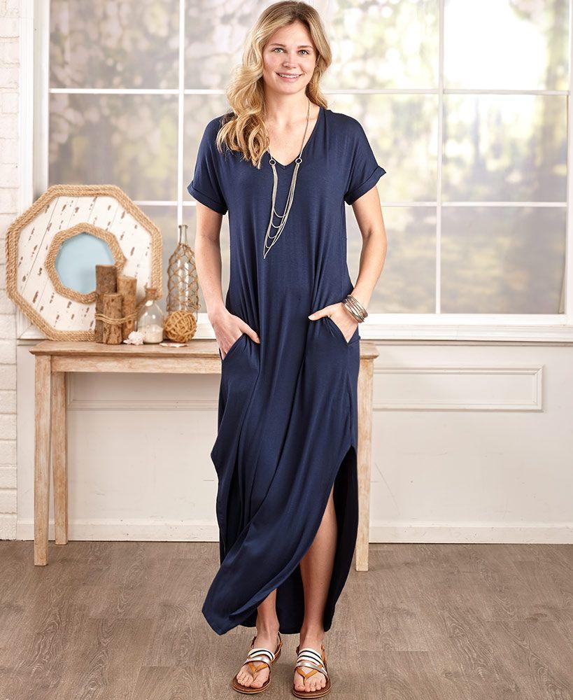 Everyday Maxi Dresses With Pockets Maxi Dress Dresses Cheap Maxi Dresses
