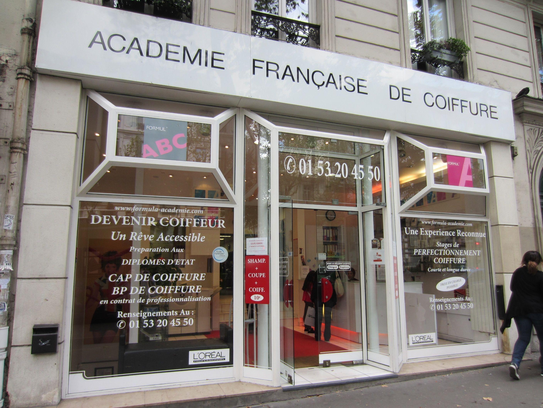 Academie Francaise De Coiffure Rue Du Faubourg Saint Martin Paris 10e Coiffures Pour L Ecole Academie Francaise Devenir Coiffeuse