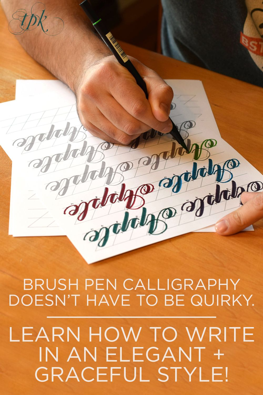 Premium Brush Pen Calligraphy Worksheet Videos Janet Style The Postman S Knock Brush Pen Calligraphy Hand Lettering Worksheet Hand Lettering Tutorial [ 1500 x 1000 Pixel ]