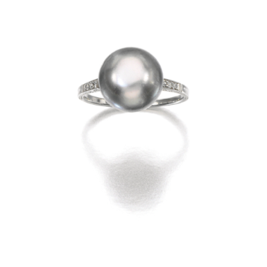 Pearl and diamond ring, 1920s - Sotheby's