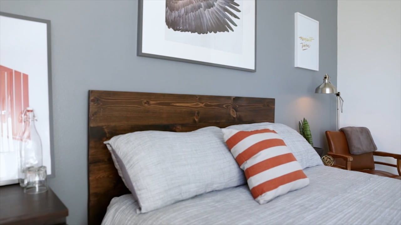 Make A DIY Headboard For Only $86