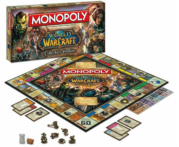 world of warcraft gets monopoly treatment