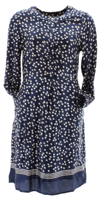 Mandy Spot Dress - Need long sleeves on a summer's day?  Here's a pretty dress that ticks all the boxes!