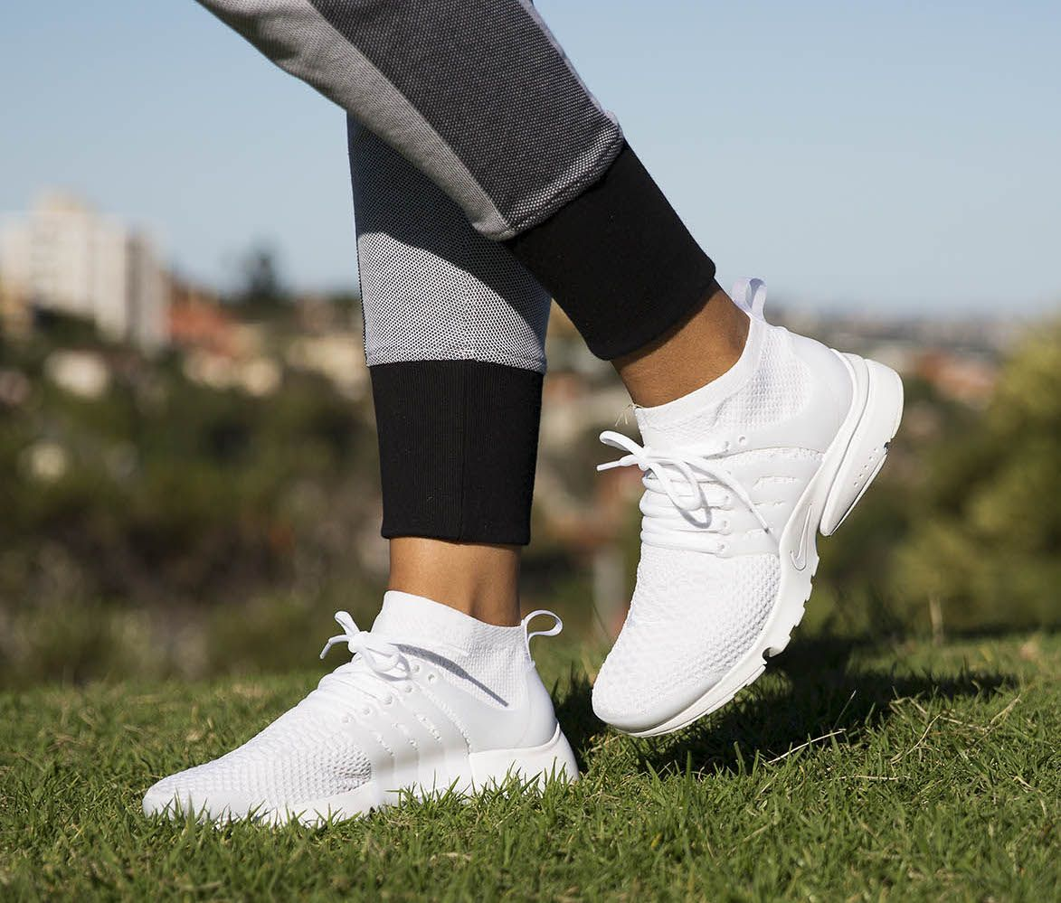 cheap for discount d8a63 f3d9b NIKE AIR PRESTO ULTRA FLYKNIT (WOMENS)  White White   Available at HYPE DC