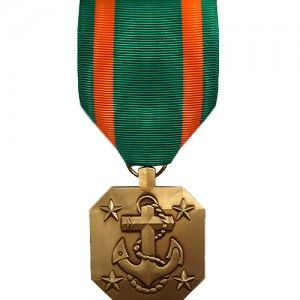US NAVY MARINE CORPS COMMENDATION MEDAL RIBBON FULL SIZE OFFICIAL AWARD