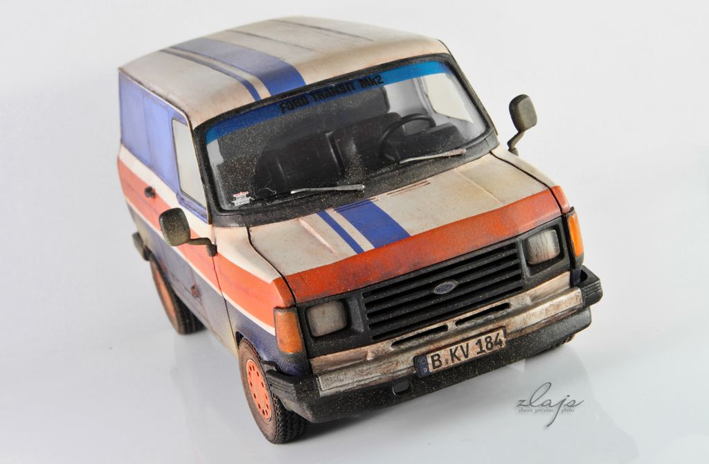 1847959667 1 18 Diecast and other Model Cars  1 24 Ford Transit Mk2 by Italeri ...