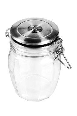 Lock Tight Faceted Jar