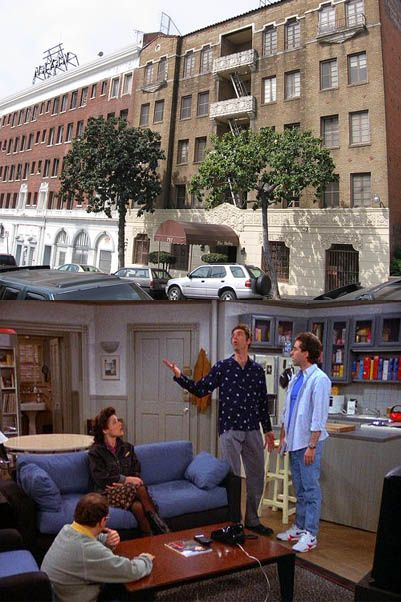 Seinfeld S Apartment To Locate 129 West 81st Street New York City Jerry Actually Lived On When He Got His Break In Stand Up