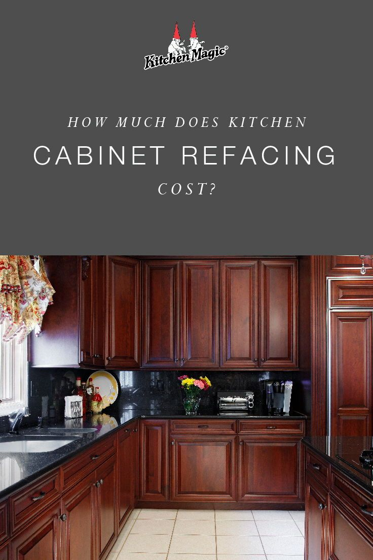 How Much Does Refacing Kitchen Cabinets Cost? | Kitchen ...