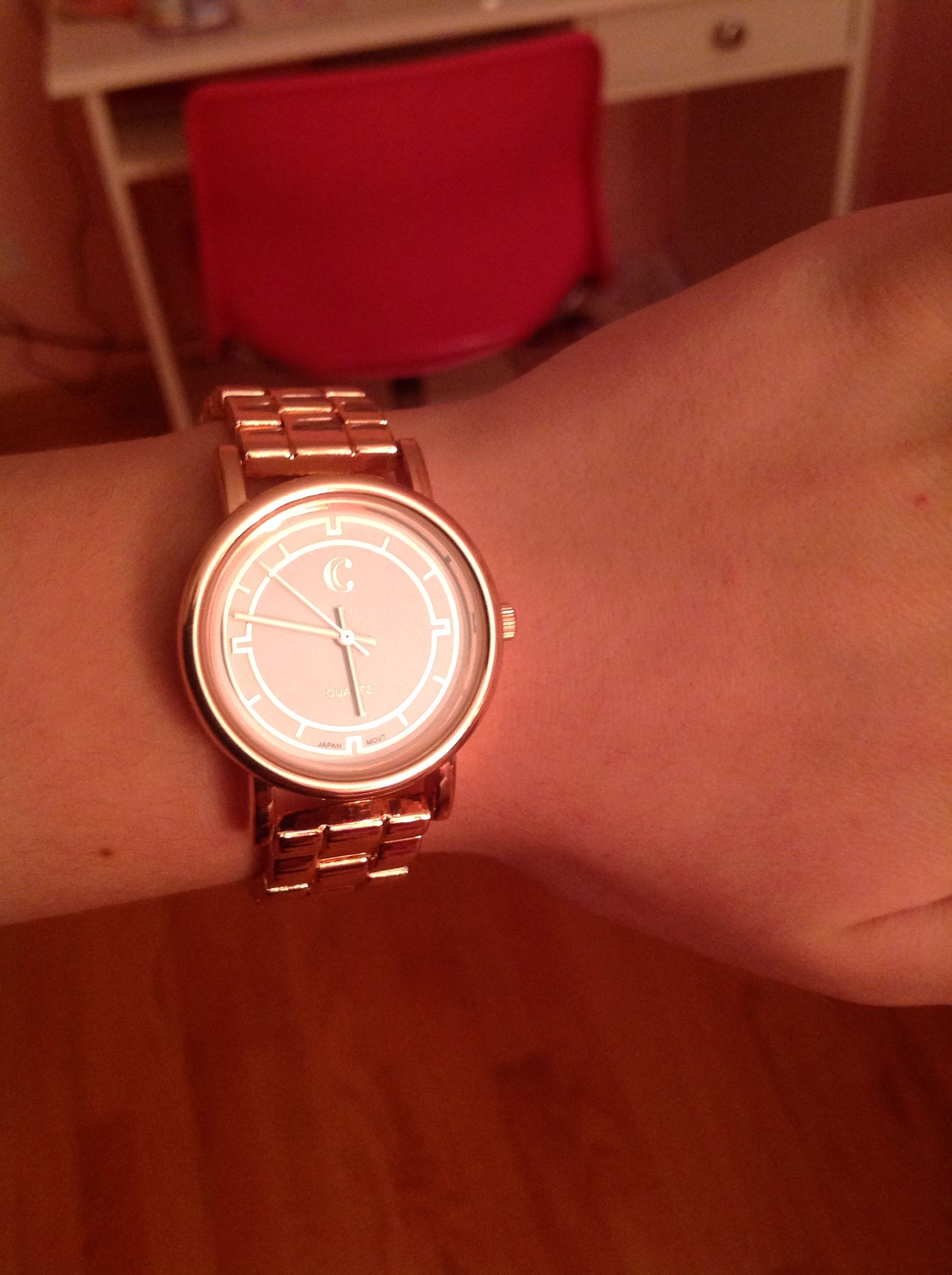 In love with bronze watches<3