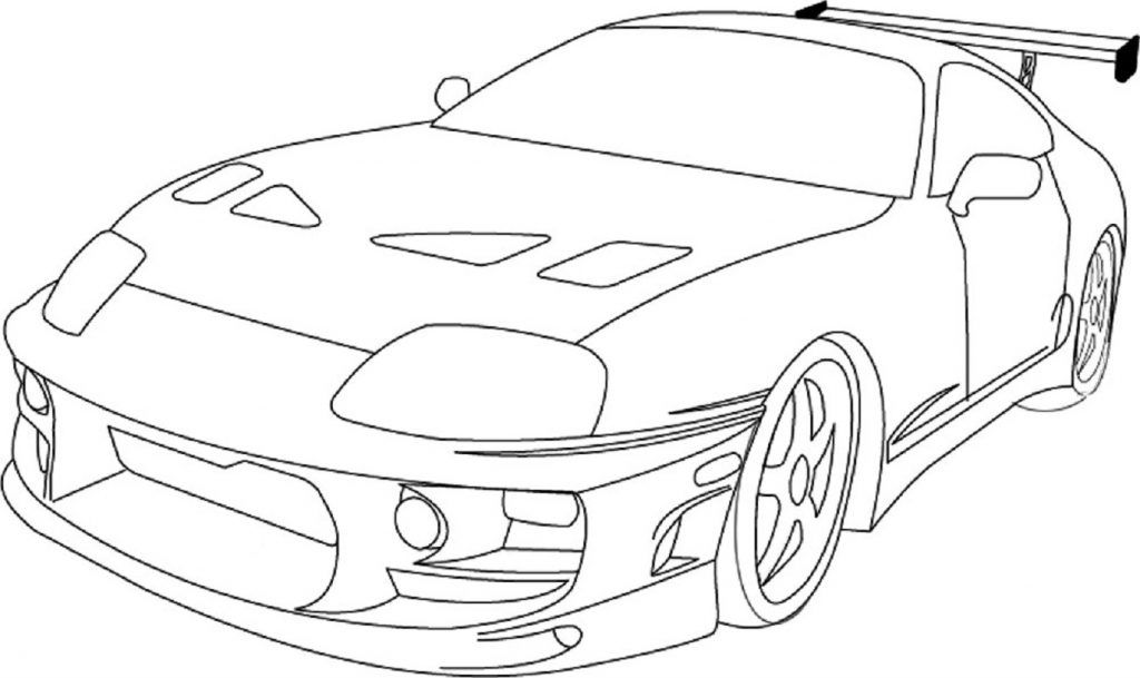 Fast And Furious Coloring Pages With Images Cars Coloring