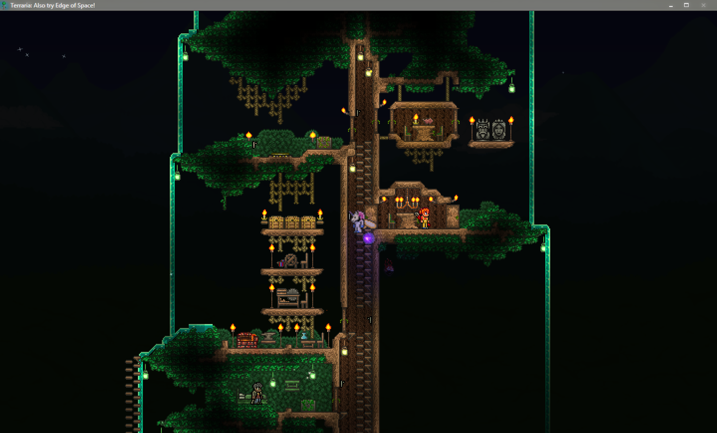 Terraria Tree House 28 Images Starting