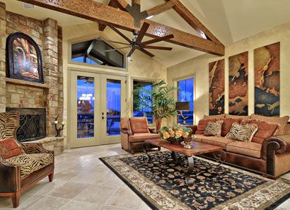 Hill country model homes