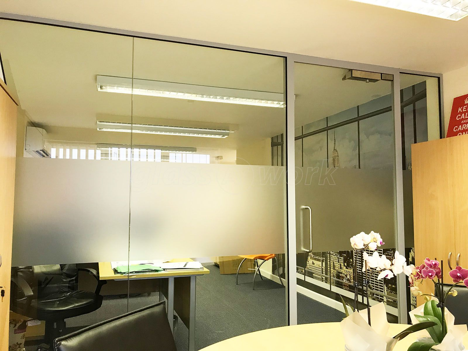 From Glass At Work: Acoustic Glass Office Wall (aka Soundproof Glass ...