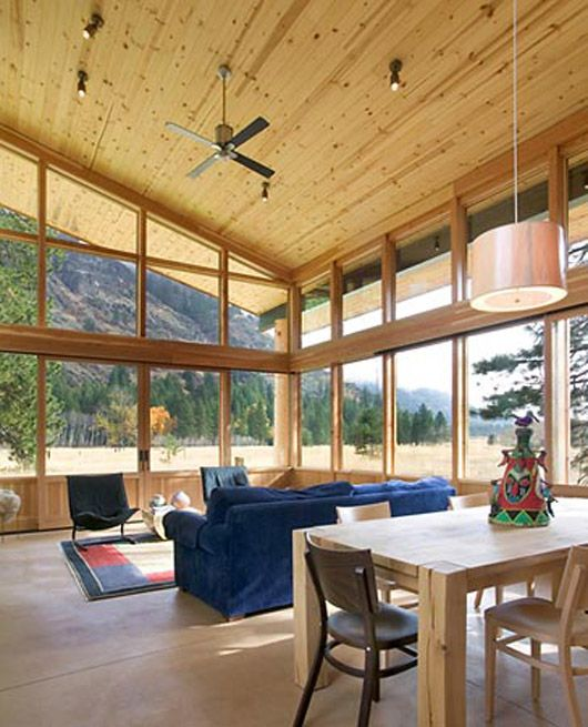 Small Cabin Interior Design Ideas | Modern Tiny House Decorating ...